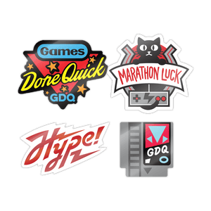 Games Done Quick Sticker Pack