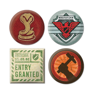 Papers, Please Buttons