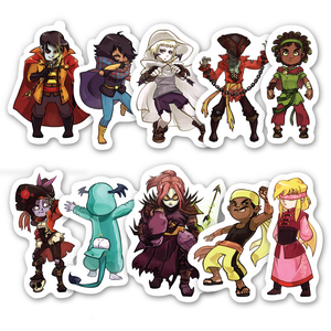 TowerFall Sticker Pack 2