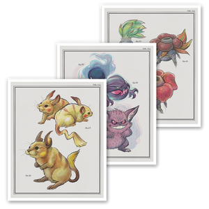 Kanto Art Prints