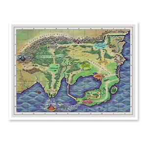 Kanto Region Map