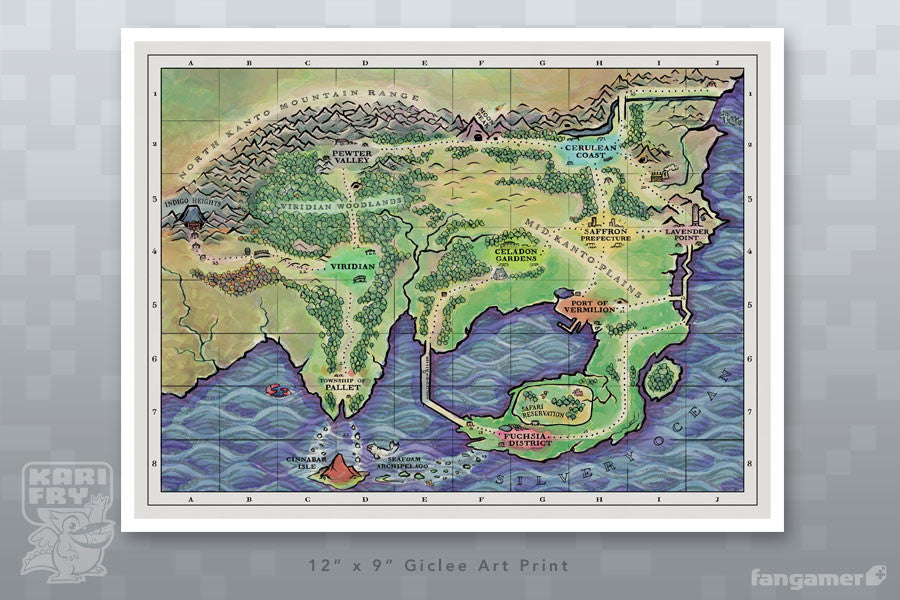 Kanto region map fangamer related products gumiabroncs Image collections