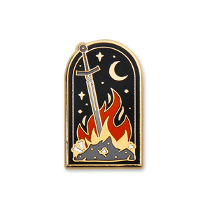 Bonfire Enamel Pin