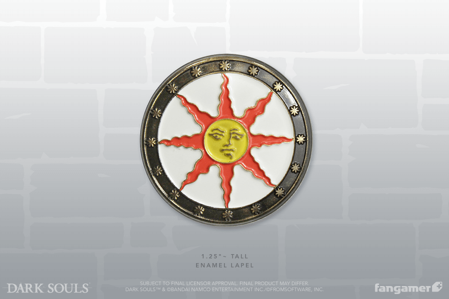 Sunlight Shield Enamel Pin