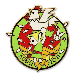AGDQ 2021 Finale Pin: Chicken Flight