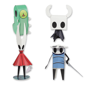 Hollow Knight Papercraft Set