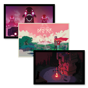 Hyper Light Drifter 3-Poster Pack