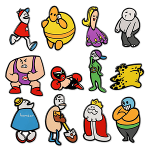 Homestar Runner Pin Sets