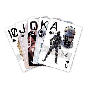 Metal Gear Solid Playing Cards