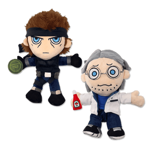 Snake and Otacon Plush Set