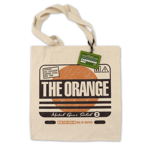 The Orange Cardboard Box Tote Bag