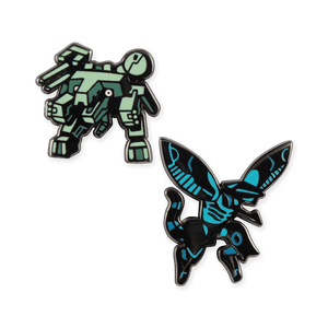 REX & RAY Pin Set