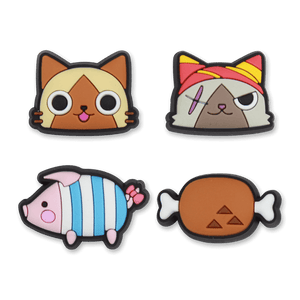 Felynes, Friends 'n Food PVC Pin Set