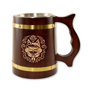 Monster Hunter Wooden Tankard Mug