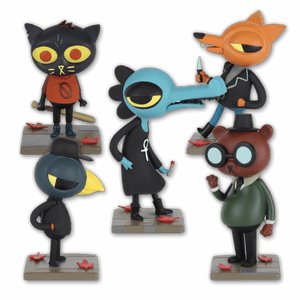 Night in the Woods Figurine Complete Set