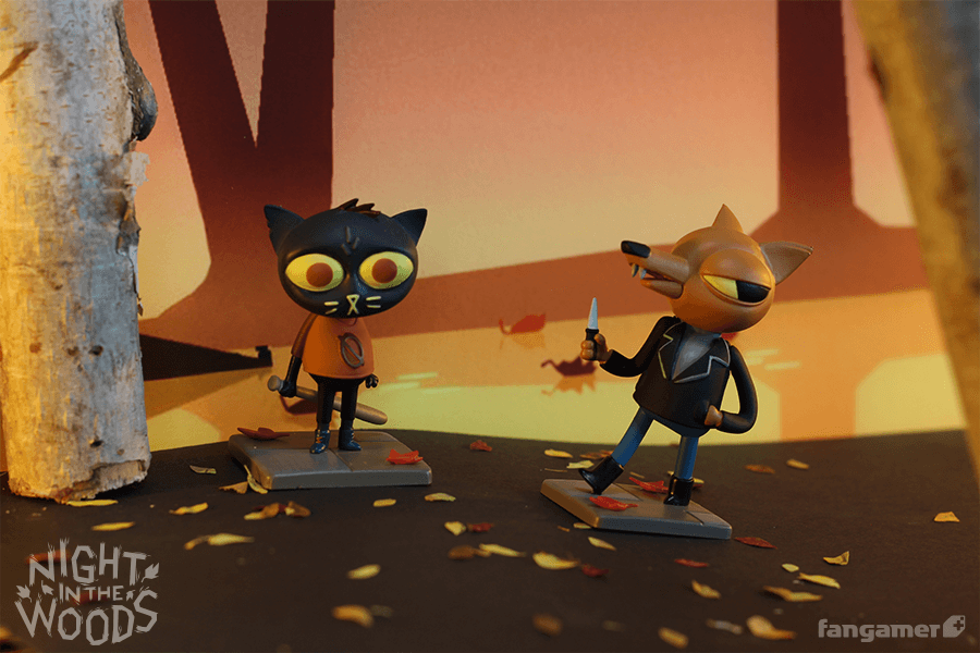 Night In The Woods Figurine Complete Set Fangamer