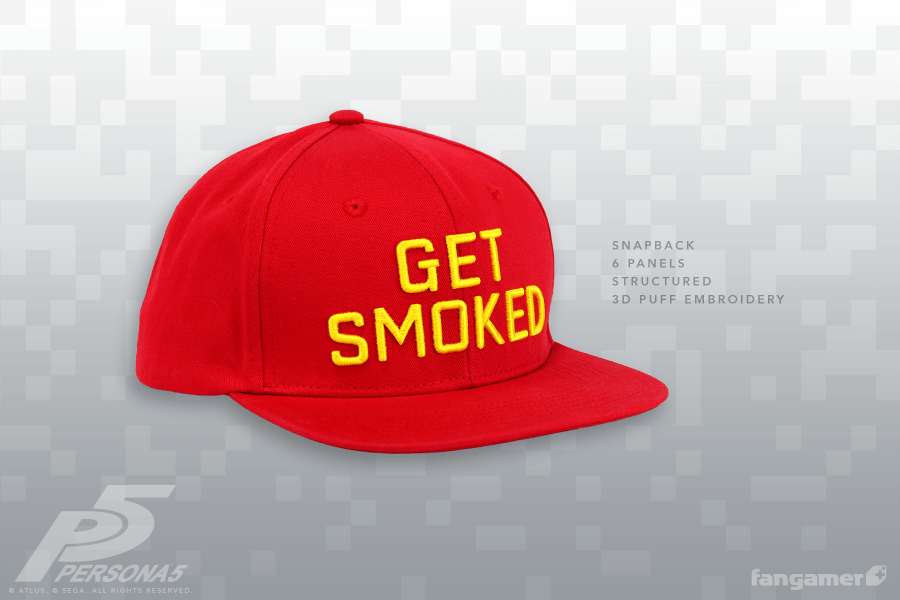 Persona 5 - Get Smoked Hat - Fangamer 0bb9d7c5cb3