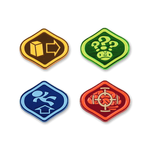 Psychonauts Merit Badges Enamel Pin Set 1