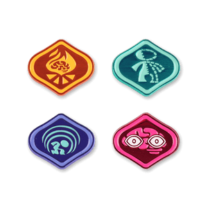 Psychonauts Merit Badges Enamel Pin Set 2