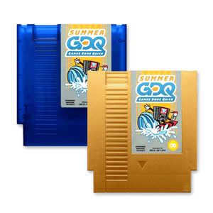 SGDQ 2018 Limited Edition NES Cartridge