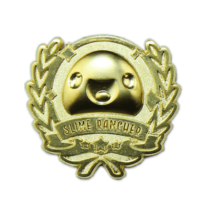 Slime Rancher Gold Achievement Lapel Pin