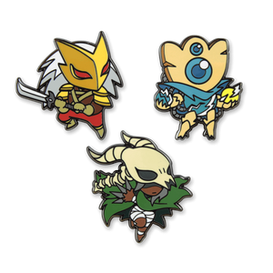 Spire Slayers Enamel Pin Set