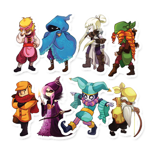TowerFall Sticker Pack