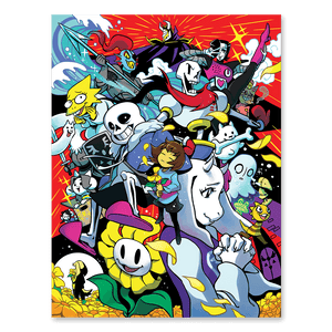 UNDERTALE 5th Anniversary Poster