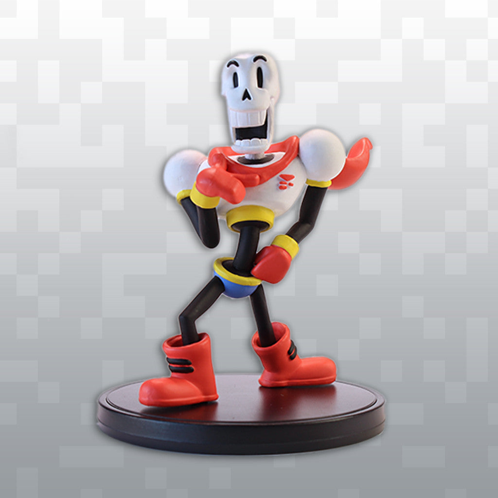 undertale   papyrus action figure   fangamer