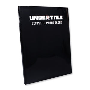UNDERTALE - Complete Piano Score Book