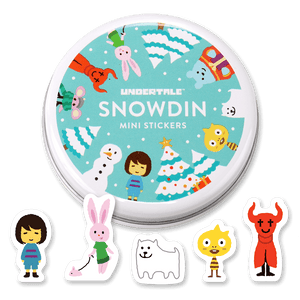 Snowdin Mini Stickers