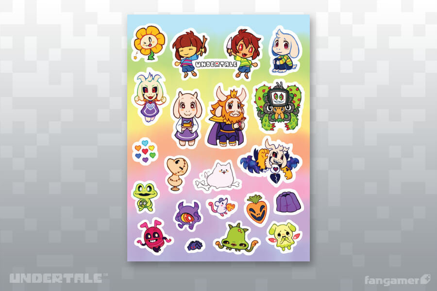 New Friends Sticker Sheet Set A