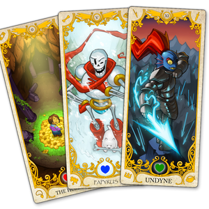 UNDERTALE Tarot Prints
