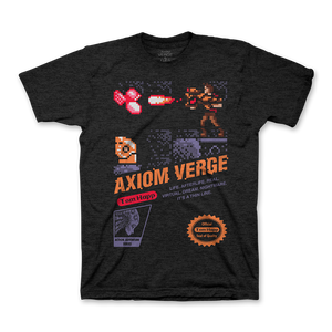 Axiom Verge - Retro Cover