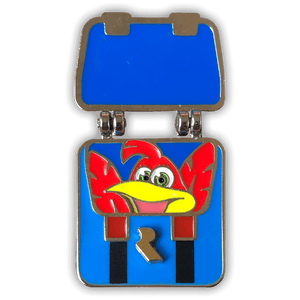 Banjo's Backpack Fold-out Enamel Pin
