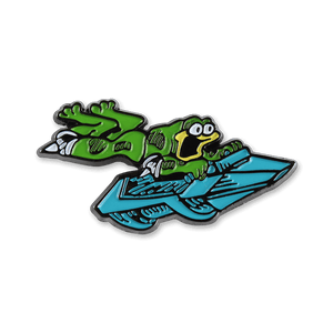 Turbo Time Enamel Pin