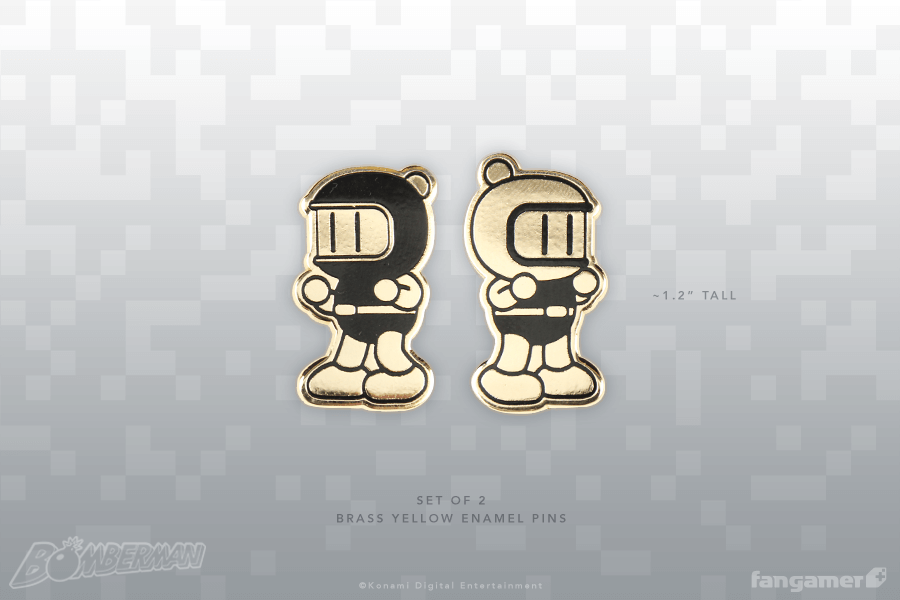 Bomber Friends Forever Pin Set