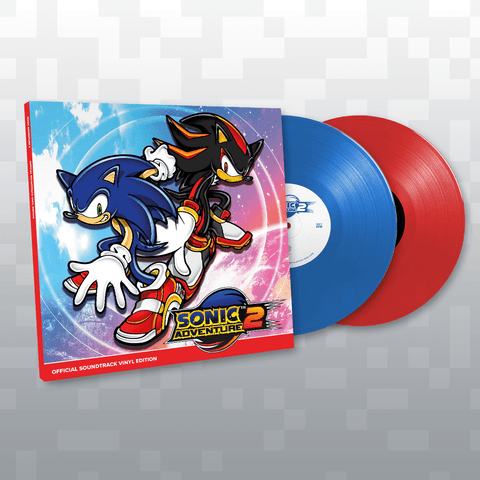 SONIC ADVENTURE 2 Official Soundtrack Vinyl Edition First Pressing