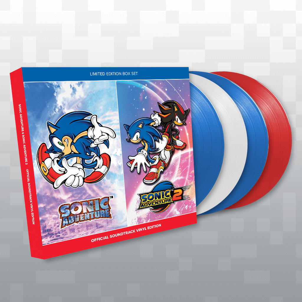 Sonic Adventure Official Soundtrack Signed Limited Edition