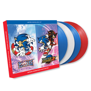 SONIC ADVENTURE Official Soundtrack Signed Limited Edition Vinyl Box Set