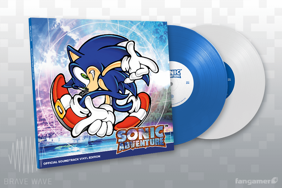 sonic adventure official soundtrack vinyl edition first pressing