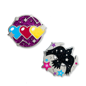 Heartfelt Farewell Pin Set