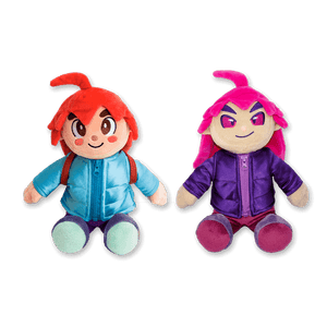 Madeline and Badeline Plush Set