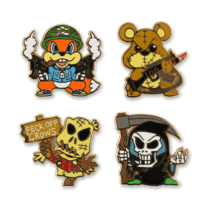 Crude Dudes Pin Set