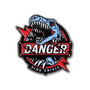 Danger! Enamel Pin