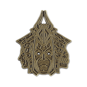 Mask of the Shapeshifter Pin