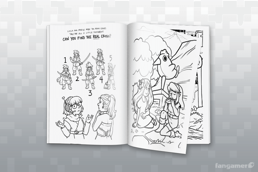 Games Done Quick Coloring Activity Book
