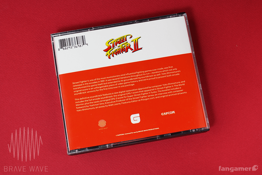 Brave Wave Generation Series - Street Fighter II: The Definitive Soundtrack