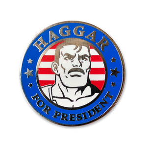 Haggar for President Pin