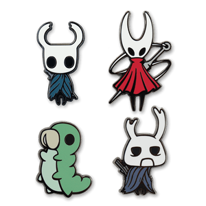 Hollow Knight Enamel Pin 4-Pack